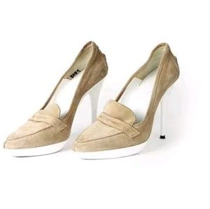 Balenciaga Stiletto Heels Pumps Penny Loafers